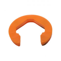 Clam, boord, oranje