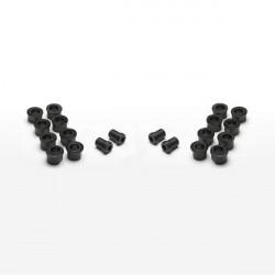 Scull Oarlock Bushings, 1/2 inch, Black