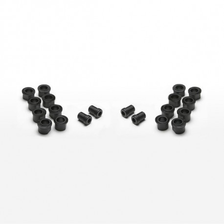 Scull Oarlock Bushings, 1/2 inch, Black